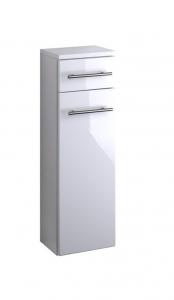 Held Möbel Unterschrank Parma in hochglanz weiß 25 cm breit 047.2096