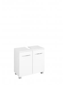 Held Möbel Waschbecken Unterschrank Portofino 60 cm in weiß