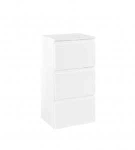 Held Möbel Unterschrank Cardiff in hochglanz weiß 40 cm breit 092.1.3102