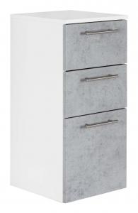 Posseik Möbel Midischrank Viva 75 in Beton optik grau VIVAMS000216DE