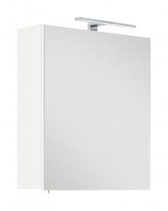 Posseik Möbel Spiegelschrank Viva 60 in weiß mit LED Beleuchtung und Steckdose VIVASPS60000101DE