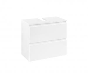 Held Möbel Waschbecken Unterschrank Cardiff in hochglanz weiß 60 cm breit 113.1.3102