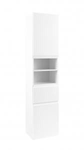 Held Möbel Seitenschrank Cardiff in hochglanz weiß 40 cm breit 120.1.3102