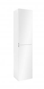 Held Möbel Seitenschrank Florida 40 cm in weiß mit Spiegeltüren 137.1.3101