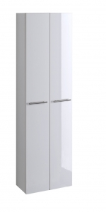 Held Möbel Bad Seitenschrank Parma in hochglanz weiß 50 cm breit 143.2096