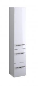 Held Möbel Midischrank Parma in hochglanz weiß 25 cm breit 219.2096