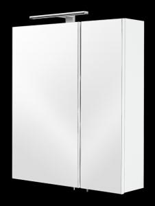 Posseik Spiegelschrank 5429 76 in weiß mit LED Beleuchtung