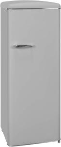 Exquisit Stand Kühlschrank RKS 325-V-H-160F grau ohne Gefrierfach in EEK F 810470200