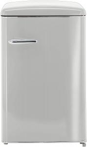 Exquisit Stand Kühlschrank RKS 120-V-H-160F grau ohne Gefrierfach in EEK F 810210200