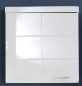Trendteam Hängeschrank Amanda 73 cm in weiß hochglanz 139350501