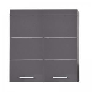 Trendteam Hängeschrank Amanda 73 cm in Agave grau hochglanz 139350521