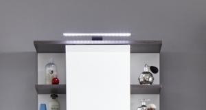 Trendteam LED Aufbauleuchte 110022900 mit Steckdose und Schalterbox