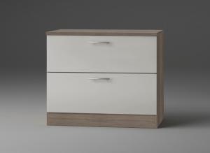 Optifit Jaka Schubladenunterschrank mit Arbeitsplatte Arta U126-9 in sahara beige