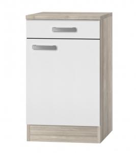 Küchen Unterschrank mit Arbeitsplatte Genf U506-9 in weiß