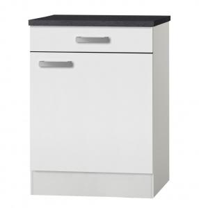 Küchen Unterschrank mit Arbeitsplatte Oslo U606-9 in weiß