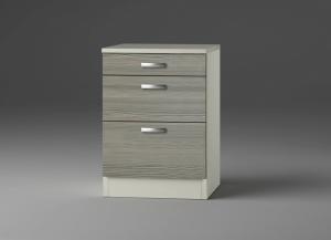 Küchen Schubladenunterschrank mit Arbeitsplatte Vigo U636-9 in Pinie Nachbildung