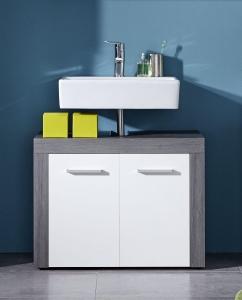 Trendteam Waschbeckenunterschrank Miami 125930103 in weiß