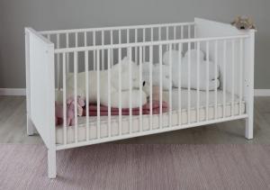 Trendteam Baby Kinder Bett Ole in weiß 183962001