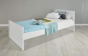 Trendteam Jugend Bett Ole in weiß ohne Bettkasten 183929401