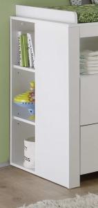 Trendteam Kinder Babyzimmer Olivia komplett 3-teilig in weiß 155360501