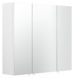Posseik Spiegelschrank 5484 76 Salona / Rima 70 cm breit in Weiß mit 3 Türen