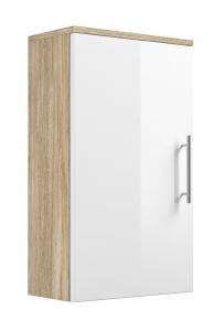Posseik Hängeschrank Salona 5608 24 eintürig in weiß hochglanz