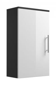 Posseik Hängeschrank Salona 5608 99 eintürig in weiß hochglanz