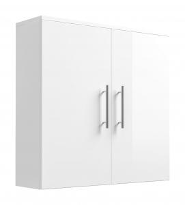 Posseik Hängeschrank Salona 5612 76 doppeltürig in weiß hochglanz