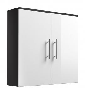 Posseik Hängeschrank Salona 5612 99 doppeltürig in weiß hochglanz