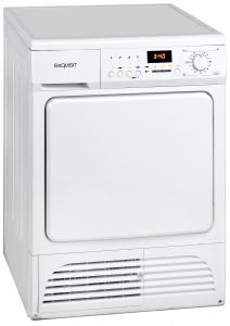 GGV Exquisit Kondenstrockner TK 810-7.2 in weiß mit LED Display und Restlaufzeitanzeige 0820015